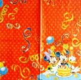 Mickey, Minnie, Donald à l'anniversaire