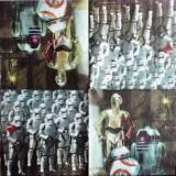 Personnages Star Wars : R2-D2, C-3PO,...