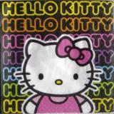 Hello Kitty écritures fluo PM