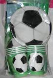 Kit vaisselle jetable football