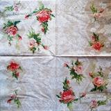 "Jolies roses style shabby chic ""bon appetit"""