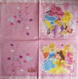 Multiples princesses fond rose