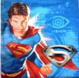 Superman fond bleu
