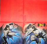 Batman fond rouge